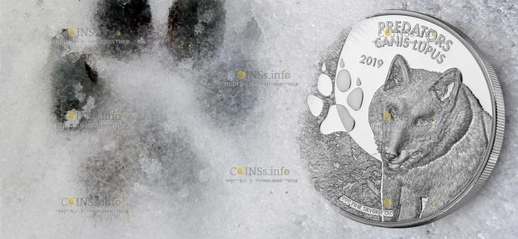 демократическая республика конго монета 20 франков КФА