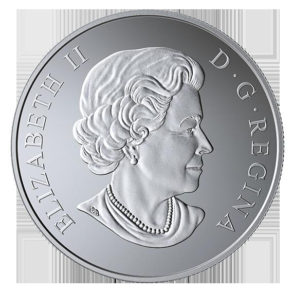 Канада монета 10 долларов 50-летие декриминализации гомосексуализма в Канаде, аверс