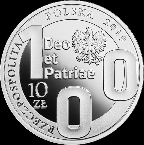 Польша монета 10 злотых 100-летие Люблинского католического университета, аверс