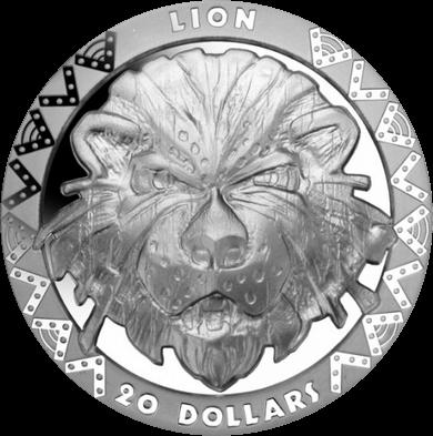 Сьерра Леоне монета 20 долларов лев, реверс