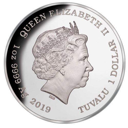 тувалу 1 доллар 2019 год