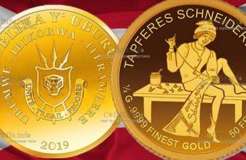 Бурунди монета 50 франков, Храбрый портняжка