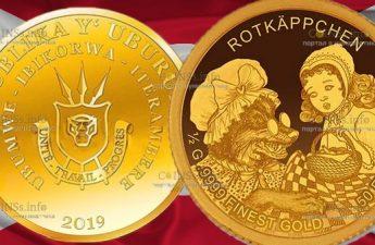 Бурунди монета 50 франков, Красная шапочка