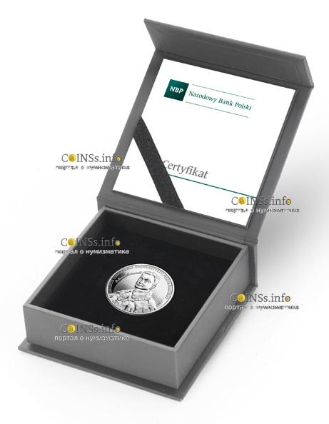 Польша монета 10 злотых 100 летие Университета имени Адама Мицкевича в Познани, подарочная упаковка