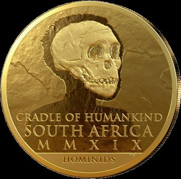 ЮАР монета Человек разумный, аверс