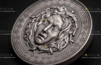 Камерун монета 3000 франков КФА Медуза