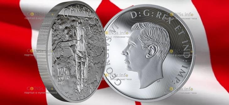 Канада монета 125 долларов Операция Тонга