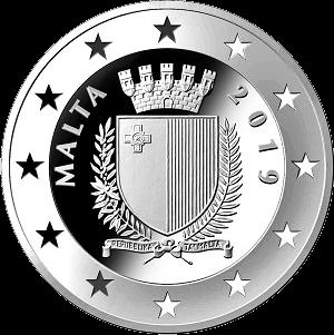 Мальта монета 10 евро 100 летие беспорядков Сетте Джуньо, аверс