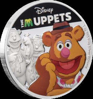 Ниуэ монета 2 доллара Маппеты, реверс