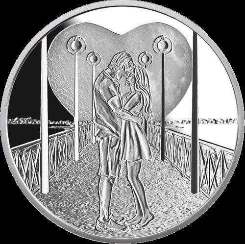 Ниуэ монета 50 центов Свадебные 50 центов, реверс