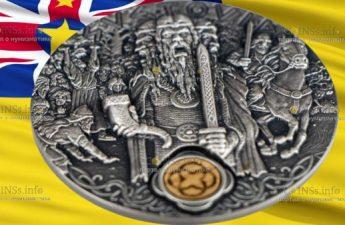 Ниуэ выпускают монету 2 доллара Святовит