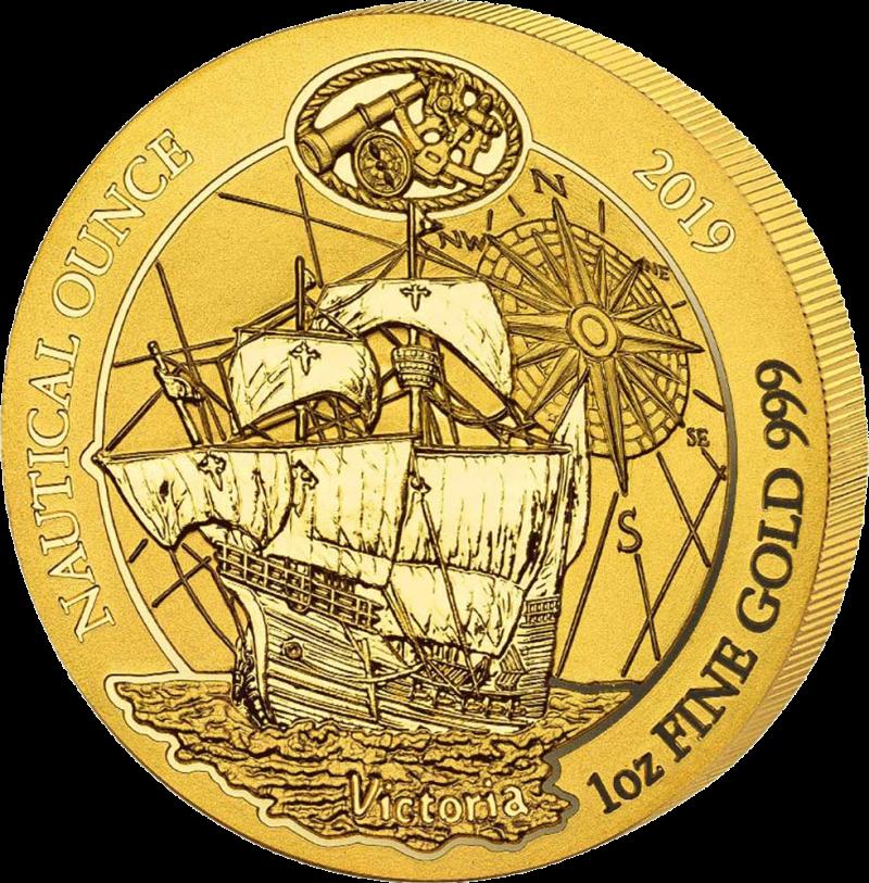 Руанда монетау 100 франков Судно Виктория, реверс