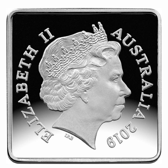Австралия монета 25 пенни Австралийский кукабурра, аверс