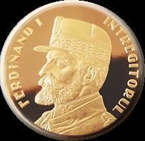 Румыния монета 500 леев король Фердинанд I, реверс