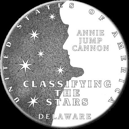 США монета 1 доллар Делавэр, реверс