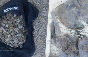В Тернопольской области строители нашли клад польских монет