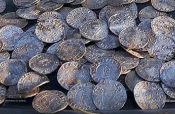 В Великобритании нашли клад серебряных монет