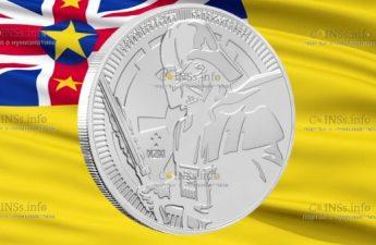 Ниуэ монета 2 доллара Дарт Вейдер