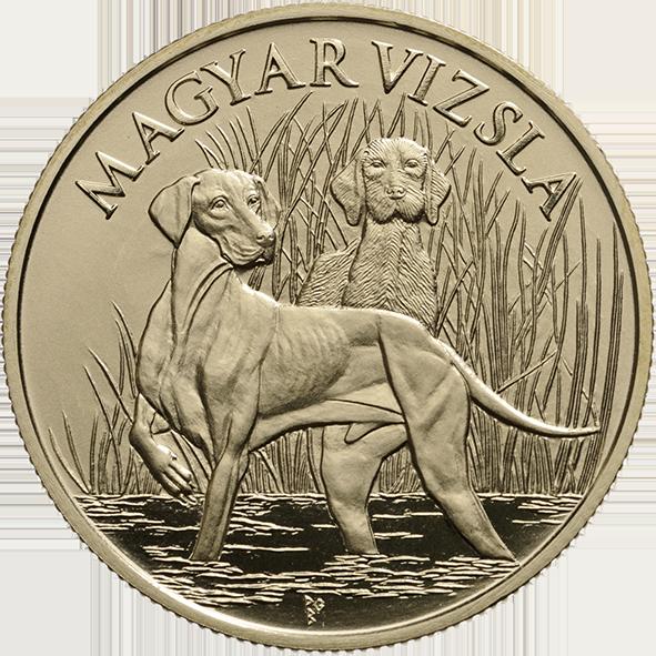 Венгрия монета 2 000 форинтов Венгерская легавая, реверс