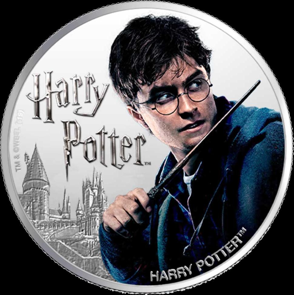 Фиджи 1 доллар Гарри Потер, реверс
