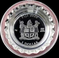 Фиджи монета 1 доллар Пробковые, аверс