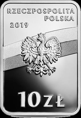 Польша монета 10 злотых Войцех Корфанты, аверс