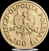 Польша монета 100 злотых Войцех Корфанты, аверс