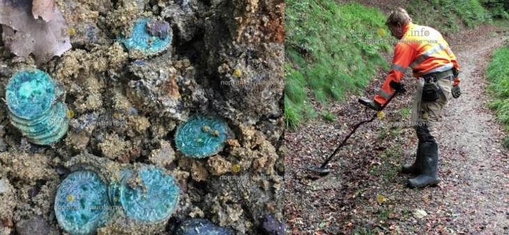 В Дании нашли клад - тысячи серебряных монет