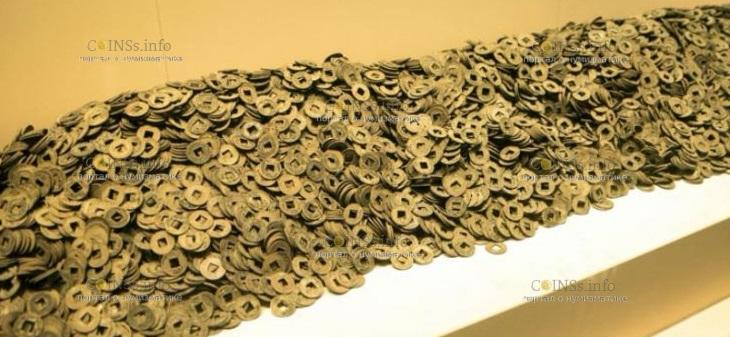Археологи в Китае нашли около 2 миллиона монет