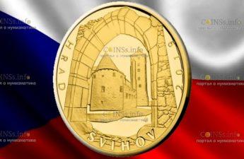 Чехия монета 5000 крон Швиховский замок