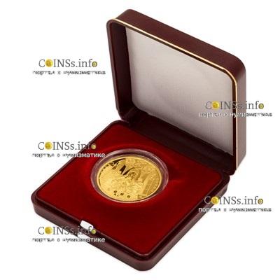 Чехия монета 5000 крон Швиховский замок, подарочная упаковка