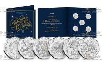 Гернси выпускает серию рождественских монет