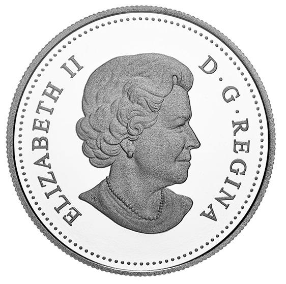 Канада монета 1 доллар Луи Риэль, аверс