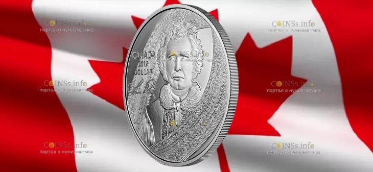 Канада монета 1 доллар Луи Риэль