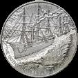 Мальта монета 10 евро 150-летие Суэцкого канала