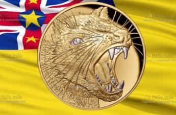 Ниуэ монета 100 долларов Тасманийский Дьявол