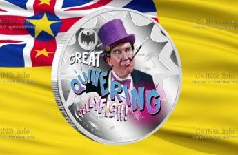 Ниуэ монета 2 доллара, Бетмен Пингвин