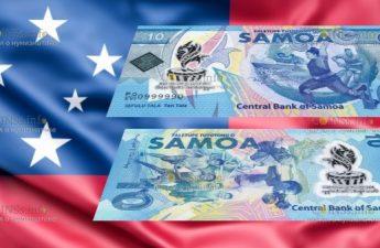 Самоа банкнота 10 тала