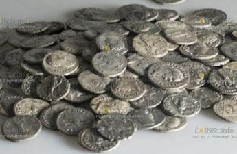 В Швейцарии нашли клад римских серебряных монет I и II века нашей эры