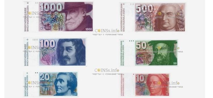 В Швейцарии объявляют об отмене лимита времени на обмен старых банкнот
