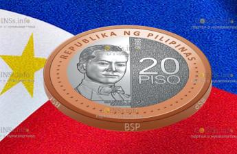 Филиппины циркуляционная монета 20 песо