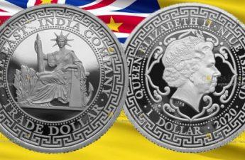 Ниуэ монета 1 доллар из серии World Trade