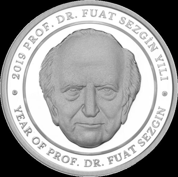 Турция монета 20 лир Профессор Фуат Сезгин, реверс