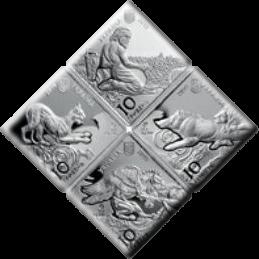 Украина набор монет - Пектораль, аверс