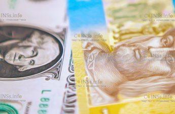укрепление гривны и рубля по отношению к доллару