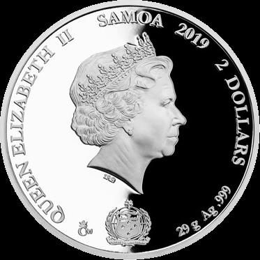 Чехия монета 2 доллара 2019 год, Легенды чешского хоккея