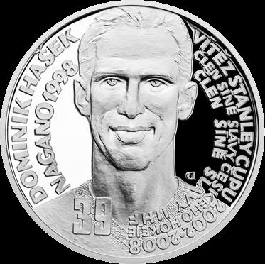 Чехия монета 2 доллара Доминик Гашек, реверс