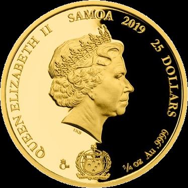 Чехия монета 25 долларов 2019 год, Легенды чешского хоккея