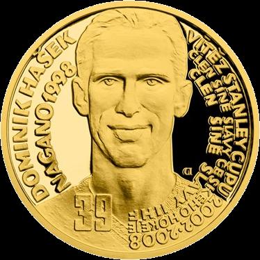 Чехия монета 25 долларов Доминик Гашек, реверс