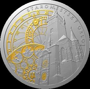 Ниуэ монета 1 доллар Пражские куранты, реверс